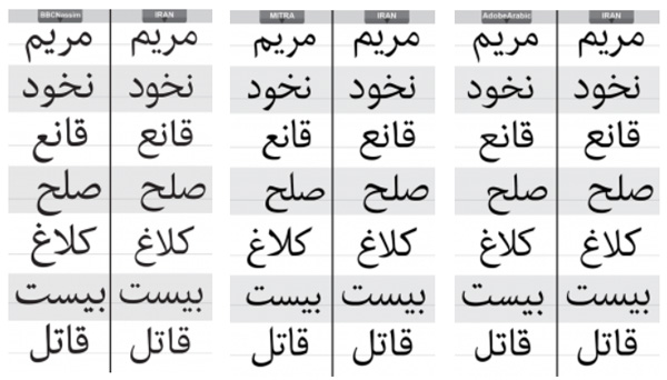 دانلود فونت ایران
